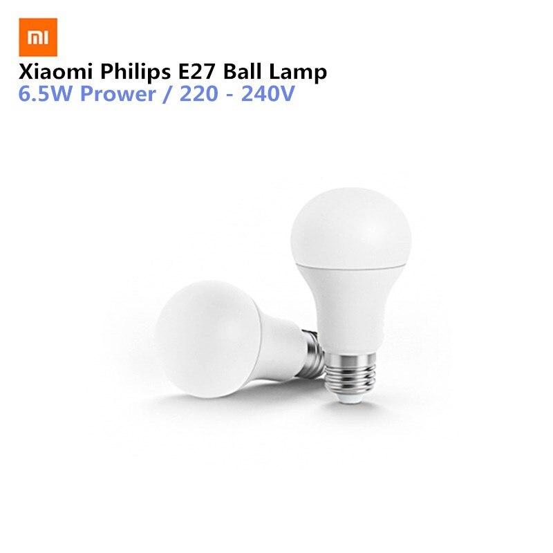 Xiaomi Mijia Smart LED Bianco E27 Lampadina Mi Luce APP WiFi Telecomando di Controllo del Gruppo 3000 k-5700 k 6.5 W 450lm 220-240 V 50/60Hz