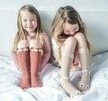 EMS/DHL Liberan el Envío 2015 de Otoño e Invierno Bebé Serpiente de Dibujos Animados Calcetines de Algodón Con Antideslizante Calcetines Del Piso Inferior