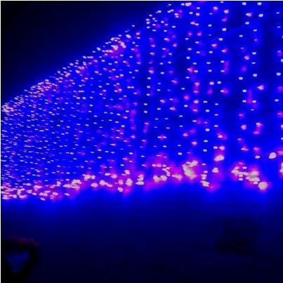 Vervoering 10x1 M Nieuwjaar Garland Led Cristmas Verlichting Outdoor Kerst Slingers Decoratie Cortina De Led String Fairy Lights Navidad Vouw-Weerstand