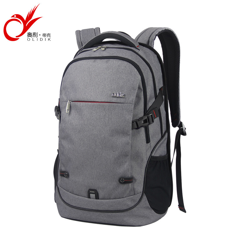 OLIDIK Laptop Backpack For Men 14 15.6 inch Notebook School Bags For Teenagers Large Capacity 30L Women Business Travel Backpack ozuko 14 inch laptop backpack large capacity waterproof men business computer bag oxford travel mochila school bag for teenagers