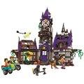 10432 Bela Scooby Doo Mystery Castillo Patio figureset Compatible Con bircks marca Juguete Kid Regalo de cumpleaños bloques de Construcción