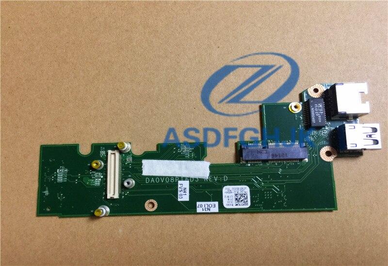 For Dell For Vostro 3460 USB LAN IO Circuit Board 0JYM12 JYM12 CN-0JYM12 DA0V08PI6D1 100% Test ok