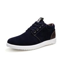 2018 Men's Shoes Spring And Autumn Men 's Casual Shoes Leisure Winter Plush For Men Shoes Plus Brish Fashion Trend