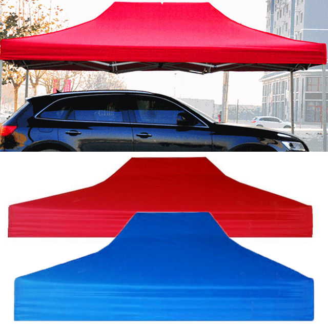Top Tent Roof Cloth Shade 2*3m Folding Four Corner Thickening Stall Inflatable Backyard Party Garden Accessories