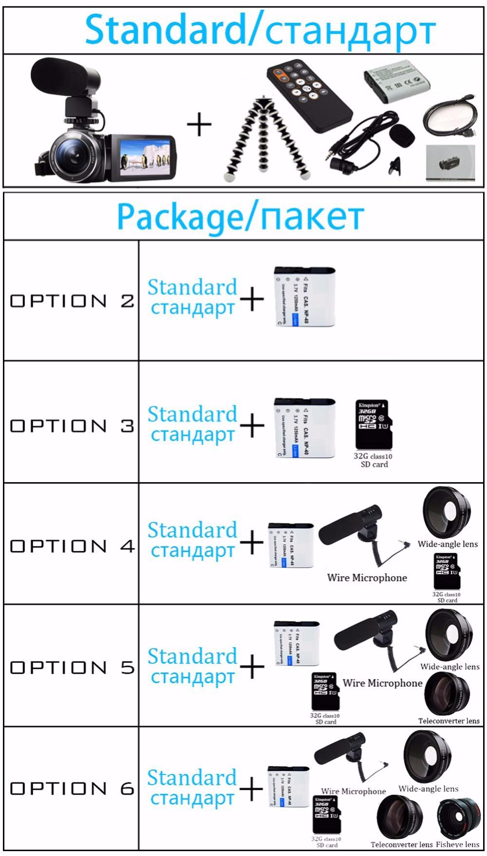 "17 Seree New Arrival FHD 1080P Digital Camera Wifi Video Camcorder 24MP 16x Zoom COMS Sensor 270 Degree 3.0"" LCD Screen 2"