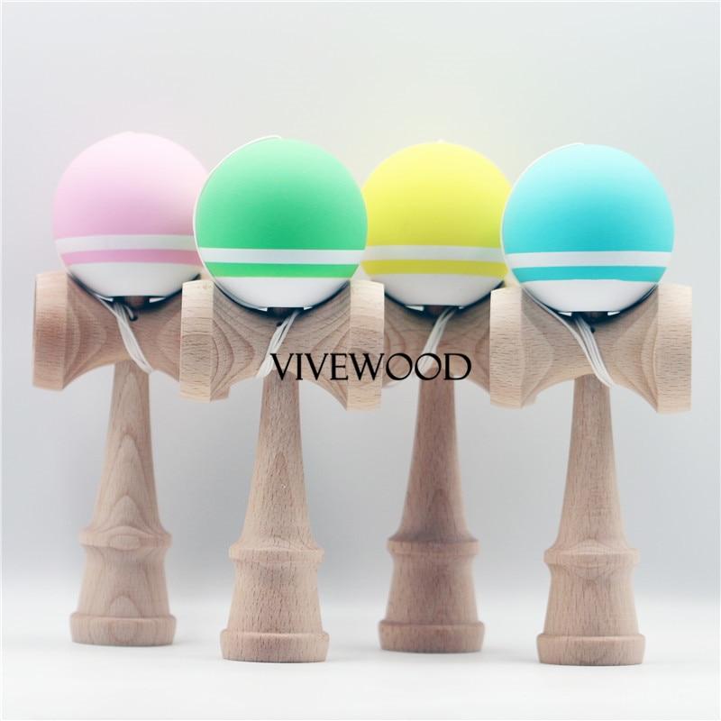 Шелк резиновая кендама, прекрасный цвет предназначены для детей, 1 полоса и белой полосой рядом конические для премьер отслеживания, бук V2.0 ...