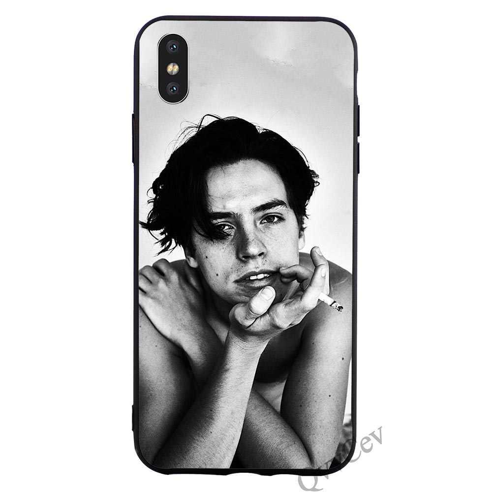 Ультратонкий чехол для телефона Cole Sprouse чехол для iPhone 5 XR X 7 8 Plus 6 6 S 5s SE Xs Max