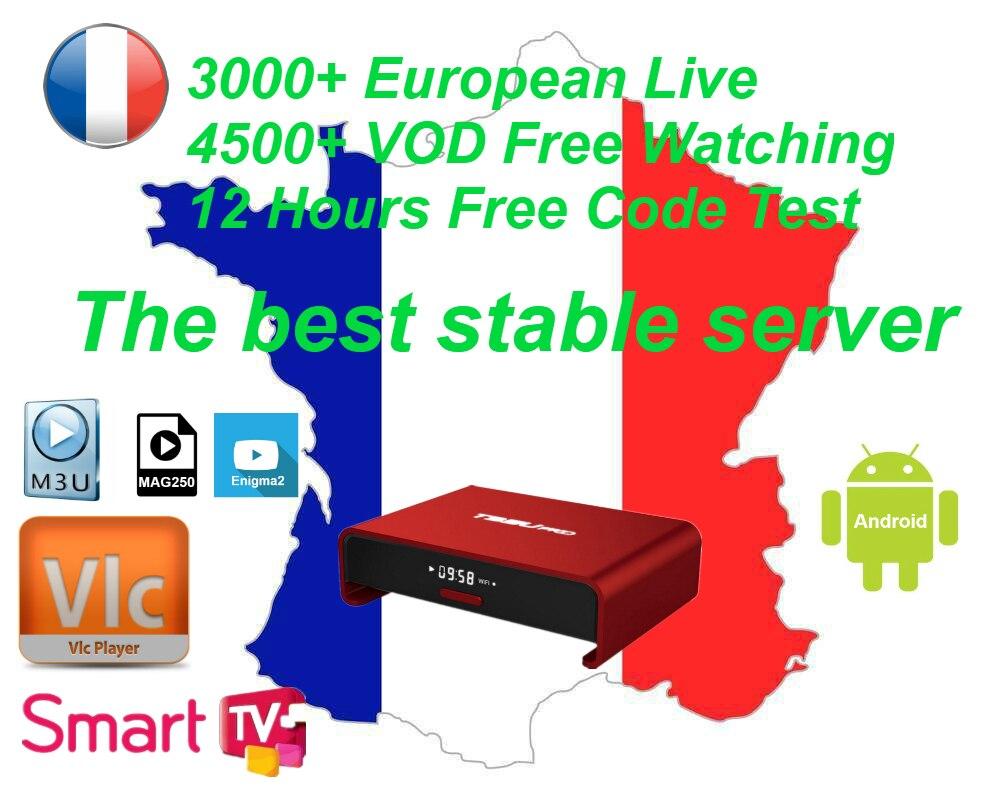 Android IPTV Box TV Empfänger Arabisch Französisch IPTV Abonnement 1 Jahr Dutch Belgien Arabc Frankreich IPTV VOD kanäle hotxxx erwachsene