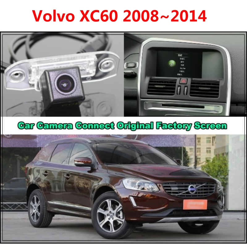 rca original screen for volvo xc60 xc 60 2008 2014 car. Black Bedroom Furniture Sets. Home Design Ideas