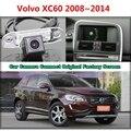 RCA y Pantalla Original Para Volvo XC60 XC 60 2008 ~ 2014 Retrovisores de coches de Copia de seguridad Cámara de Marcha Atrás con la Cámara Del Coche Original del coche pantalla