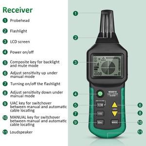 Image 5 - MS6818 Draht Tracker Test Kabel Netzwerk Tragbare Telefon Kabel Locator Unterirdischen Rohr Detektor Kabel Toner Finder