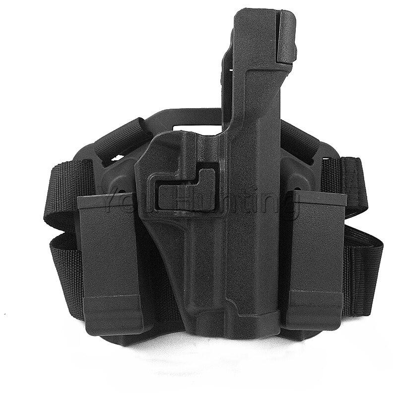 SIG SAUER P226 Pistolera Táctica de Caza Gota Muslo de La Pierna Pistola RH Hols