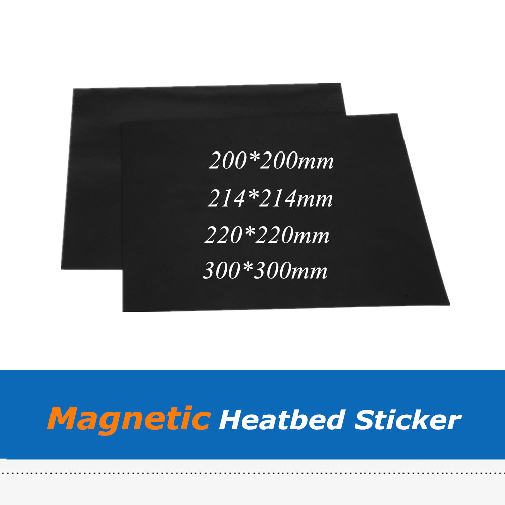 <font><b>3D</b></font> <font><b>Printer</b></font> Parts <font><b>Flex</b></font> Build <font><b>Plate</b></font> Magnetic Printing Heat Bed Tape Sticker for Wanhao i3 Anet A8 Creality ENDER-3 <font><b>3D</b></font> <font><b>Printer</b></font> image