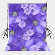 5x7ft Backdrop Ultra Violet Flower Wall Photography Background Pantone