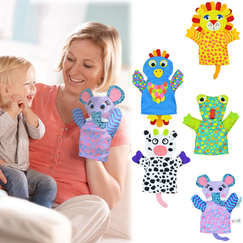 Romantic Baby Cleaning Bath Towel Cartoon Animal Lion Frog Elephant Cow Chick Bath Glove Sponge For Body Washcloths Children I0068 Making Things Convenient For The People Toys & Hobbies Baby Rattles & Mobiles