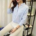 New Spring&Autumn Korean Fashion Blouses Shirts Women 2016 Casual Body Blouse Plus Size Ladies Shirt Women Tops Loose Blusa