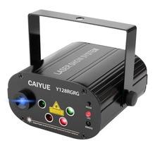 128 desenler projektör DJ lazer sahne işık RGRB kırmızı yeşil mavi LED etkisi disko topu denetleyici hareketli kafa parti lambası