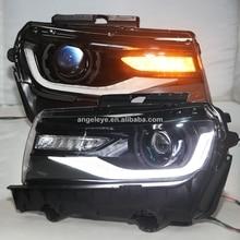 Pour Chevrolet Camaro LED Head Light 2016-2018 LED Moving LED YZ