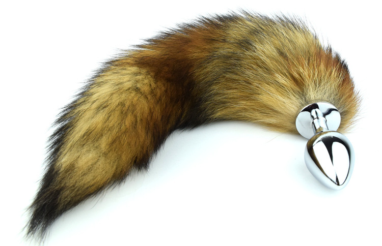 sex shop selling wiht fox and cat tail anal plug for games bult plug sexy tail