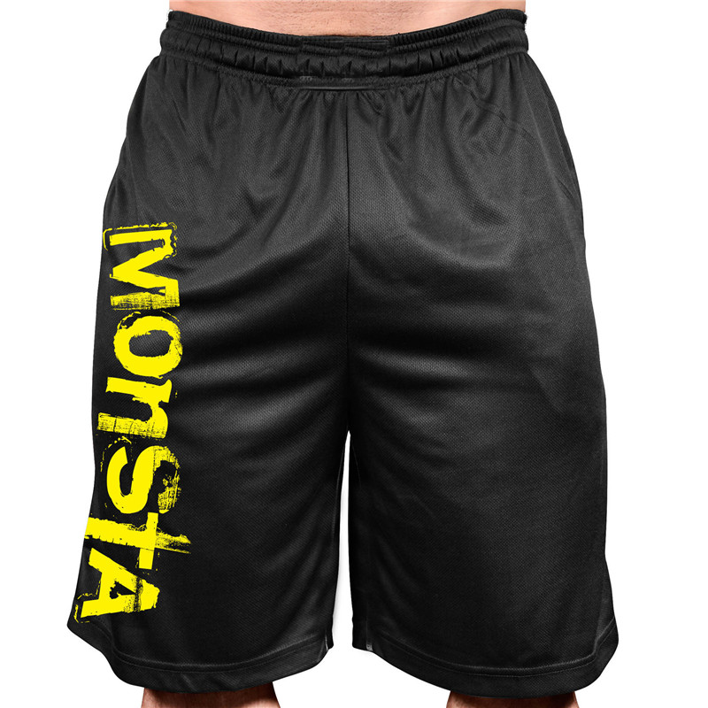 New Men Casual Shorts Sport Breathable Quick-drying Fitness Clothing Jogging Mens Pantalón Corto Hombre Compression Summer Gyms