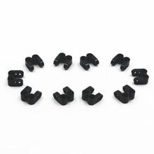 цена на Building Blocks BulkTechnic Parts 20pcsTECHNIC CROSS BLOCK/FORK 2X2 compatible with lego for kids boys toy