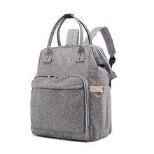 2017New брендовая сумка Детская мода Сумки для подгузников большой мешок пеленки рюкзак Средства ухода за кожей для будущих мам Сумки для мамочек маленьких подгузник сумки