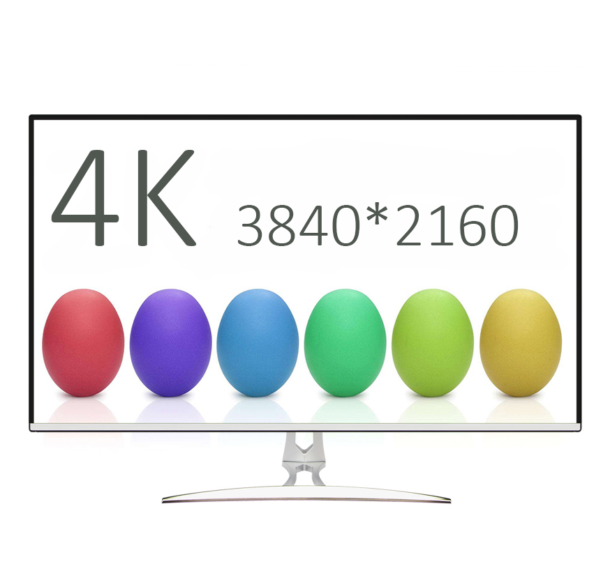 32 pouces 3840*2160 HD moniteur LED IPS jeu bureau HDR PS4 ordinateur moniteur VGA LCD écran 4 K HDMI moniteur PC