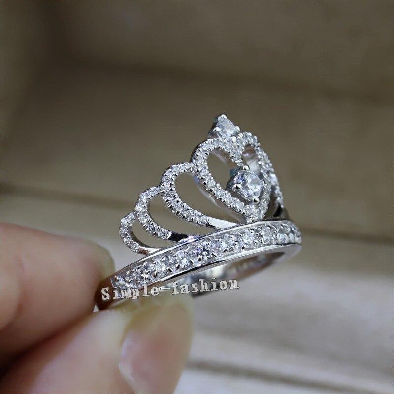 ring kroon zilver