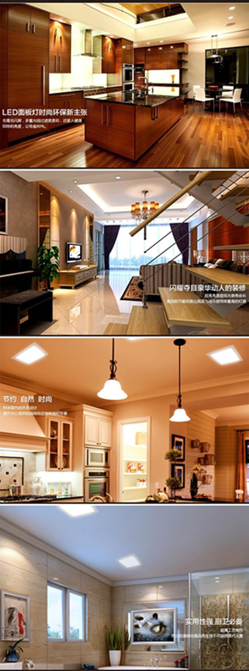 Compre 177 Watt Runde / Quadrat Führte Decke Downlight Einbau Küche Bad  Lampe 177 177 V Panel Led Licht Warm / Kühles Weiß Free Verschiffen A $17.177  Del