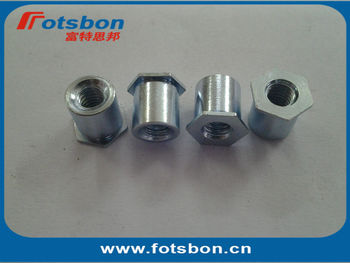 TSOA-M35-1200  Threaded standoffs for sheets thin as 0.25/ 0.63mm,PEM standard,AL6061,