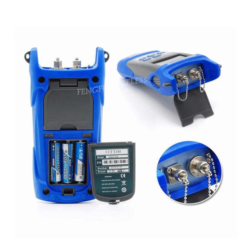 Дешевый sgot04 ручной OTDR 60 км Волокно придраться тестер 1310or1550nm Волокно останова детектор неисправностей с VFL FC/SC разъем