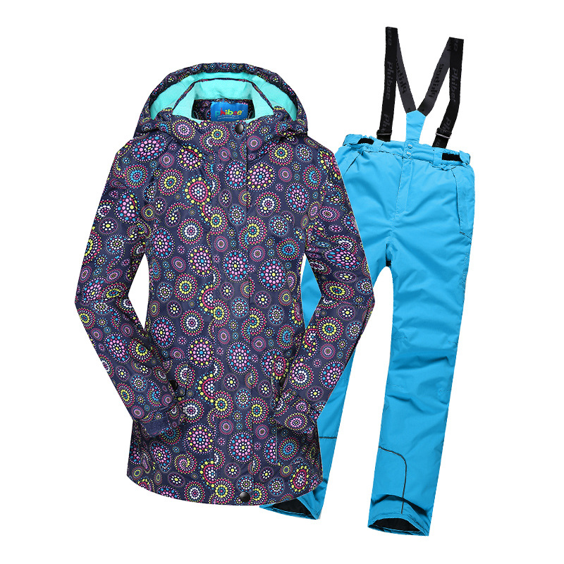 Mioigee 2018 Children Sets Winter Sport Suit for Girls Clothes Girls Warm Jacket Pants Set Windproof Waterproof Suits цена