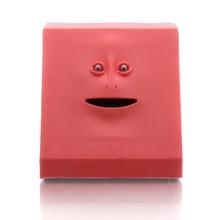Facebank Piggy Bank Robotic Face Eating Coin Saving Box Fack Bank Creepy
