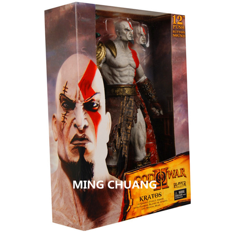 NECA God Of War: Ghost Of Sparta 12 Kratos Conqueror Son Of Zeus Sparta Soundable Medusa Action Figure Collectible Model Toy neca heroes of the storm dominion ghost nova pvc action figure collectible model toy 15cm