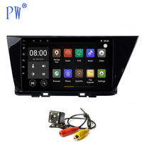 Android 7.1 Car Radio GPS Navi Player for Kia Niro 2016 2018 Car Multimedia Stereo Sat Nav Head Unit Audio Navigation Wifi