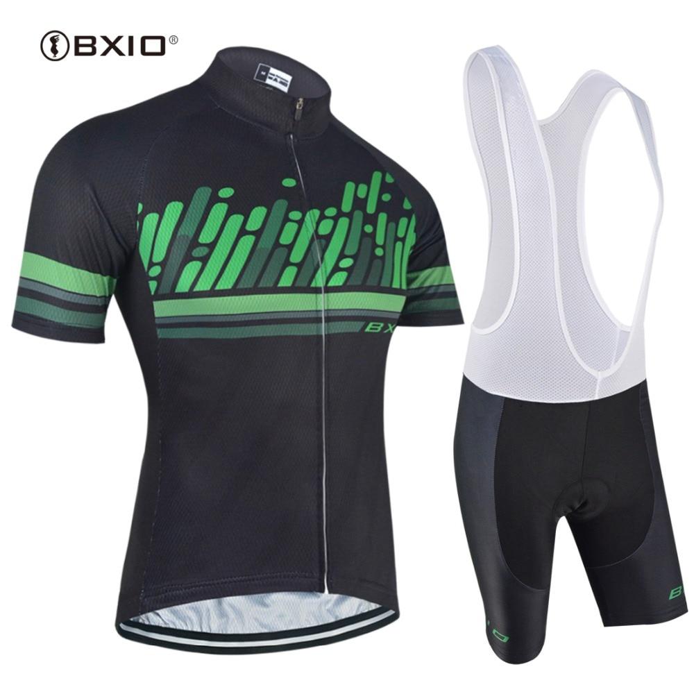 BXIO Cyklistické sady Oblečení Silniční Cyklo Pro Cyklistické oblečení Oblečení Ropa Ciclismo Racing Prodyšné Cyklistické Cyklistické dresy BX0209H158