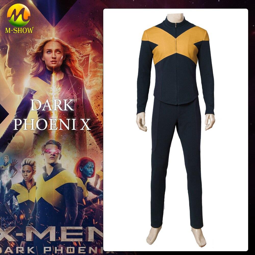 Dark Phoenix Cosplay Costume X Men Jean Grey Top Pants Dark Phoenix Cosplay Uniform Halloween Costumes