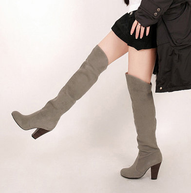 bottes femmes 2017 winter ugs botines over the knee military botas mujer knee thigh high women zapatos mujer boots shoes 818 women boots winter autumn cow suede thigh high boots sexy over the knee high heels shoes fshion botas senhora bottes d hiver