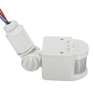 Image 1 - Motion Sensor Light Switch Outdoor AC 220V Automatic Infrared PIR Motion Sensor Switch With LED Light