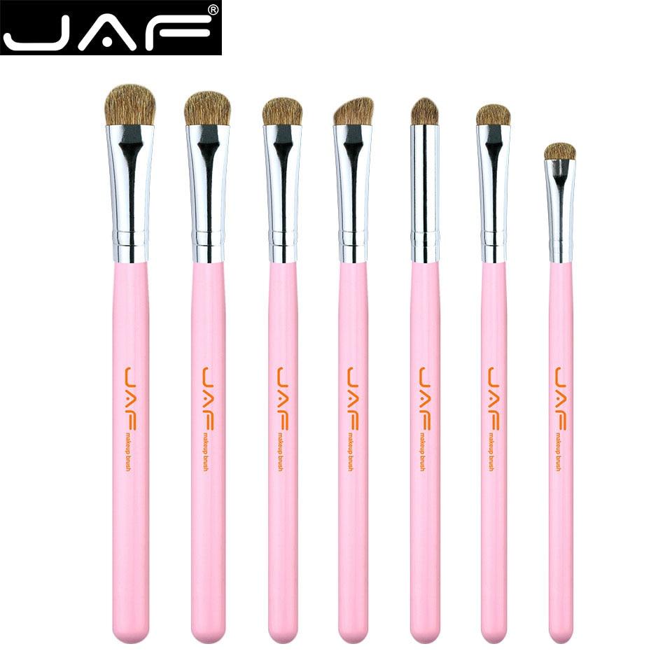 ccb960efc 7 pcs Makeup Brush Kit Pink A Set of Makeup Brushes Natural hair Eye Shadow