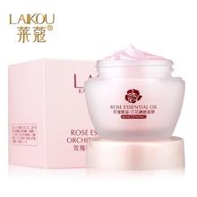 LAIKOU Rose oil Orchid Sleeping Mask Clean Skin Deeply Nourish Fruit facial mask maker Free-wash mask
