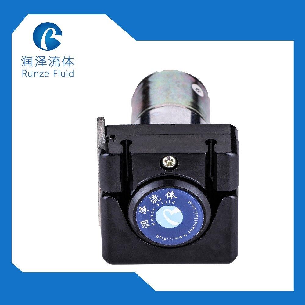 Mini pompe péristaltique à faible impulsion 12v dc auto-amorçante 4 rouleaux