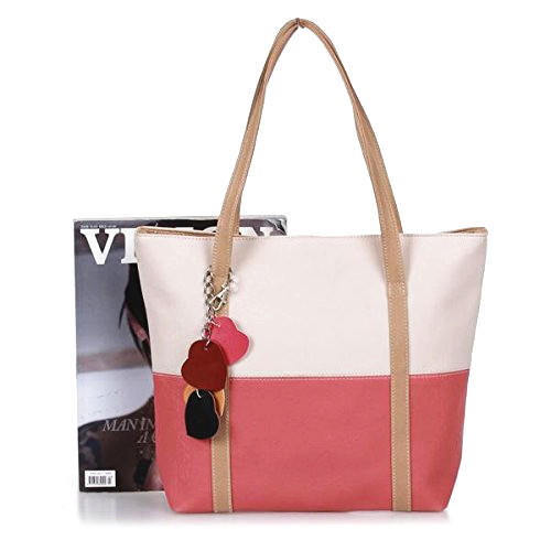TEXU Sweet Blend Candy Color New Fashion Women Leather Handbags Shoulder Bag Sac A Main Marques Bolsos Mujer Women Bags Designer
