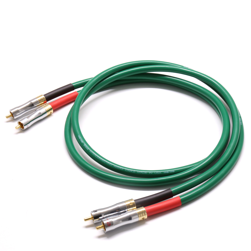 0.5M-3M Hifi audio Pailicce gold plated plugs connector <font><b>MCINTOSH</b></font> <font><b>2328</b></font> audio 4N Copper <font><b>Mcintosh</b></font> RCA Interconnect audio cable image