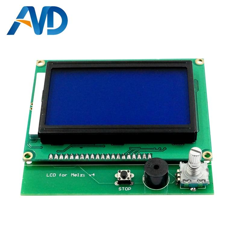 12864LCD + 3D panneau de commande de l'imprimante DIY kit partie tronxy Melzi 2.0 1284 p 3D IMPRIMANTE PCB CONSEIL IC ATMEGA1284P accessoires - 5