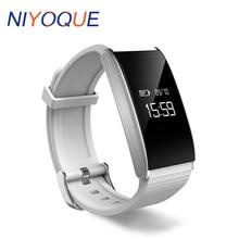 Niyoque Smart Band A58 шагомер Presión arterial и крови кислородом Фитнес сердечного ритма трекер SmartBand часы для iOS и Android