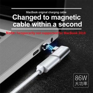 Image 2 - Baseus USB סוג C כבל סוג C מגנטי מתאם עבור Macbook סמסונג s8 s9 OnePlus 5 5T 6 מהיר טעינה מגנט USB C מחבר