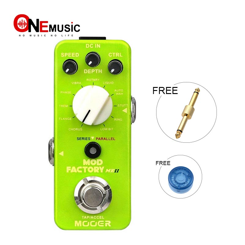 MOOER Mod Factory MKII Digital Multi Modulation Pedal with 11 Different AlgorithmsMOOER Mod Factory MKII Digital Multi Modulation Pedal with 11 Different Algorithms