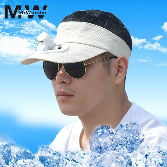 Fan Sun Hats Creative USB Charging Hat with Fan Detachable Top Sun Caps 5  Colors for Women Men with Cool Summer SAN0 c305ddd4637f