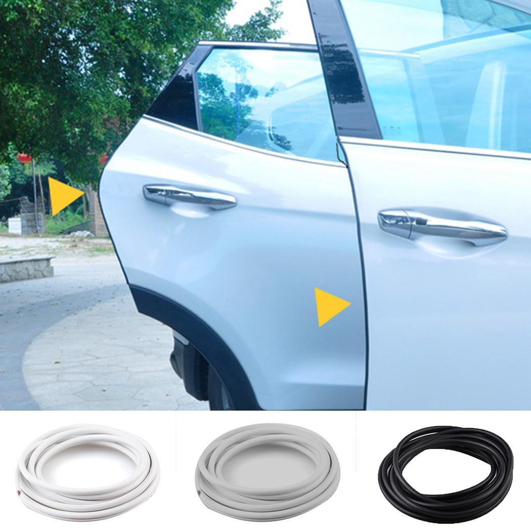 Universal Car Door Edge Rubber Scratch Protector Moulding Strip Protection Strips Sealing Anti-rub DIY Car-styling
